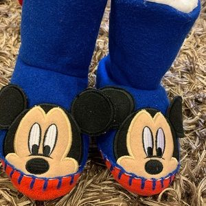 Disney Exclusive Fluffy Little Boy Home Boots
